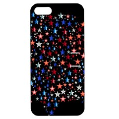 America Usa Map Stars Vector  Apple Iphone 5 Hardshell Case With Stand