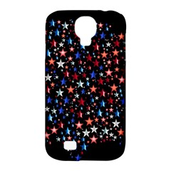 America Usa Map Stars Vector  Samsung Galaxy S4 Classic Hardshell Case (PC+Silicone)