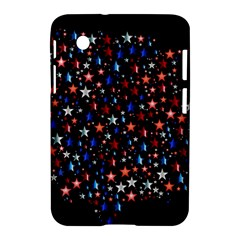 America Usa Map Stars Vector  Samsung Galaxy Tab 2 (7 ) P3100 Hardshell Case