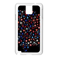 America Usa Map Stars Vector  Samsung Galaxy Note 3 N9005 Case (White)