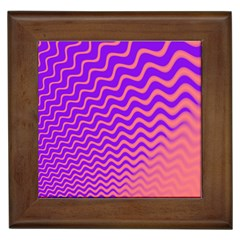 Pink And Purple Framed Tiles