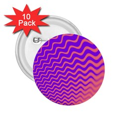 Pink And Purple 2 25  Buttons (10 Pack)