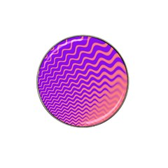 Pink And Purple Hat Clip Ball Marker