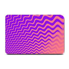 Pink And Purple Small Doormat