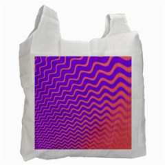 Pink And Purple Recycle Bag (Two Side)