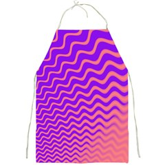 Pink And Purple Full Print Aprons