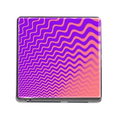Pink And Purple Memory Card Reader (Square)