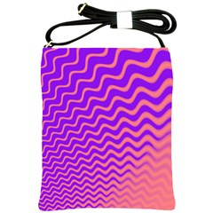Pink And Purple Shoulder Sling Bags