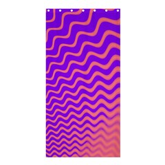 Pink And Purple Shower Curtain 36  x 72  (Stall)