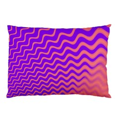 Pink And Purple Pillow Case (Two Sides)