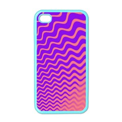 Pink And Purple Apple iPhone 4 Case (Color)