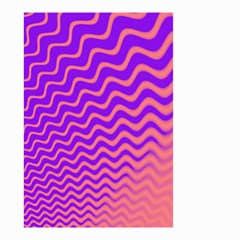 Pink And Purple Small Garden Flag (Two Sides)