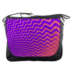 Pink And Purple Messenger Bags