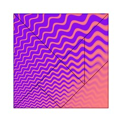 Pink And Purple Acrylic Tangram Puzzle (6  x 6 )
