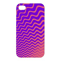 Pink And Purple Apple iPhone 4/4S Premium Hardshell Case