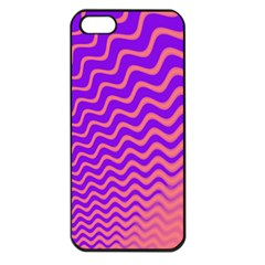Pink And Purple Apple iPhone 5 Seamless Case (Black)