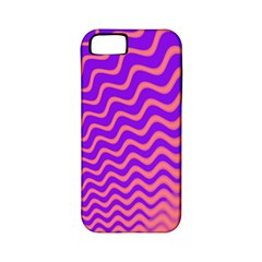 Pink And Purple Apple Iphone 5 Classic Hardshell Case (pc+silicone)