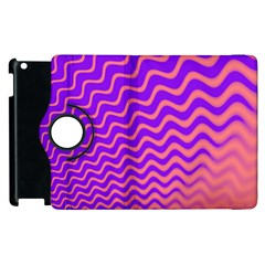 Pink And Purple Apple iPad 2 Flip 360 Case