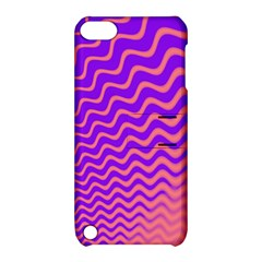 Pink And Purple Apple iPod Touch 5 Hardshell Case with Stand