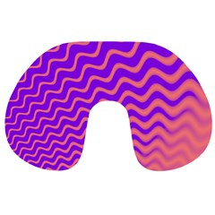 Pink And Purple Travel Neck Pillows