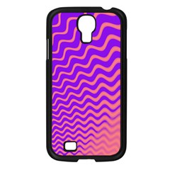 Pink And Purple Samsung Galaxy S4 I9500/ I9505 Case (Black)
