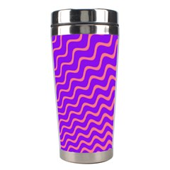 Pink And Purple Stainless Steel Travel Tumblers