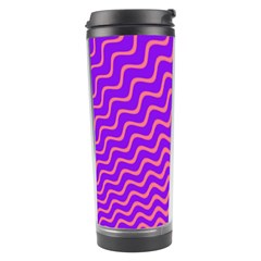 Pink And Purple Travel Tumbler