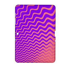 Pink And Purple Samsung Galaxy Tab 2 (10.1 ) P5100 Hardshell Case