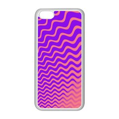 Pink And Purple Apple iPhone 5C Seamless Case (White)