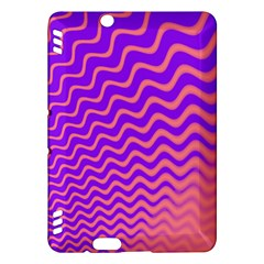 Pink And Purple Kindle Fire HDX Hardshell Case