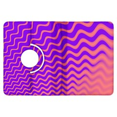 Pink And Purple Kindle Fire HDX Flip 360 Case