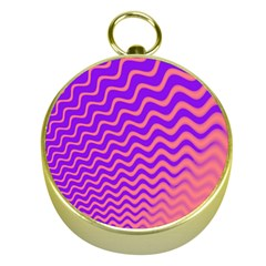 Pink And Purple Gold Compasses
