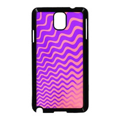 Pink And Purple Samsung Galaxy Note 3 Neo Hardshell Case (black)