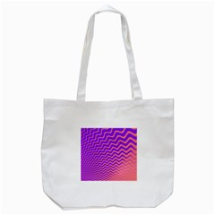 Pink And Purple Tote Bag (white)
