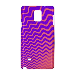 Pink And Purple Samsung Galaxy Note 4 Hardshell Case