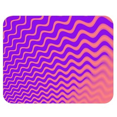 Pink And Purple Double Sided Flano Blanket (Medium)