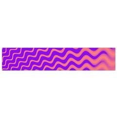 Pink And Purple Flano Scarf (Small)