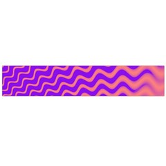 Pink And Purple Flano Scarf (Large)