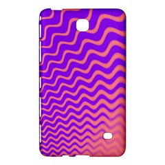 Pink And Purple Samsung Galaxy Tab 4 (7 ) Hardshell Case