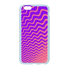 Pink And Purple Apple Seamless iPhone 6/6S Case (Color)