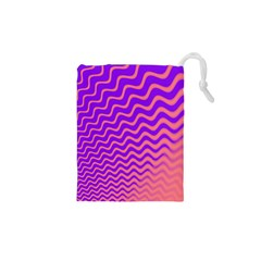 Pink And Purple Drawstring Pouches (XS)