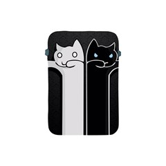 Texture Cats Black White Apple iPad Mini Protective Soft Cases