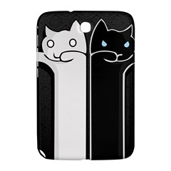 Texture Cats Black White Samsung Galaxy Note 8.0 N5100 Hardshell Case
