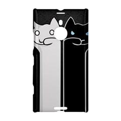 Texture Cats Black White Nokia Lumia 1520