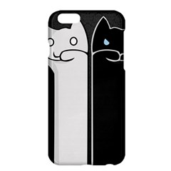 Texture Cats Black White Apple iPhone 6 Plus/6S Plus Hardshell Case
