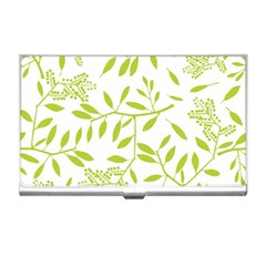 Leaves Pattern Seamless Business Card Holders