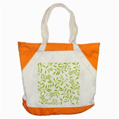 Leaves Pattern Seamless Accent Tote Bag