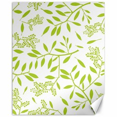 Leaves Pattern Seamless Canvas 16  X 20