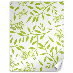 Leaves Pattern Seamless Canvas 36  X 48
