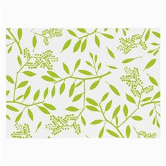 Leaves Pattern Seamless Large Glasses Cloth